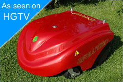 I want that robot lawn mower hgtv automatic  robot mower