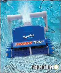 Aquabot t2 pool cleaner as seen on Forbes